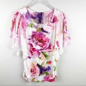 Expresso Brand Rose Top Size M